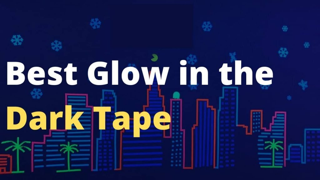 Best Glow in the Dark Tape for Safety, Stairs, Light Switches, Stage, Theatrical, Theater, Exits, Decals, Ceiling, Floor, Vinyl, Stripe, Arrows, Stars, Dot, Waterproof, Gaffers, Halloween, Fluorescent - Home Improvement