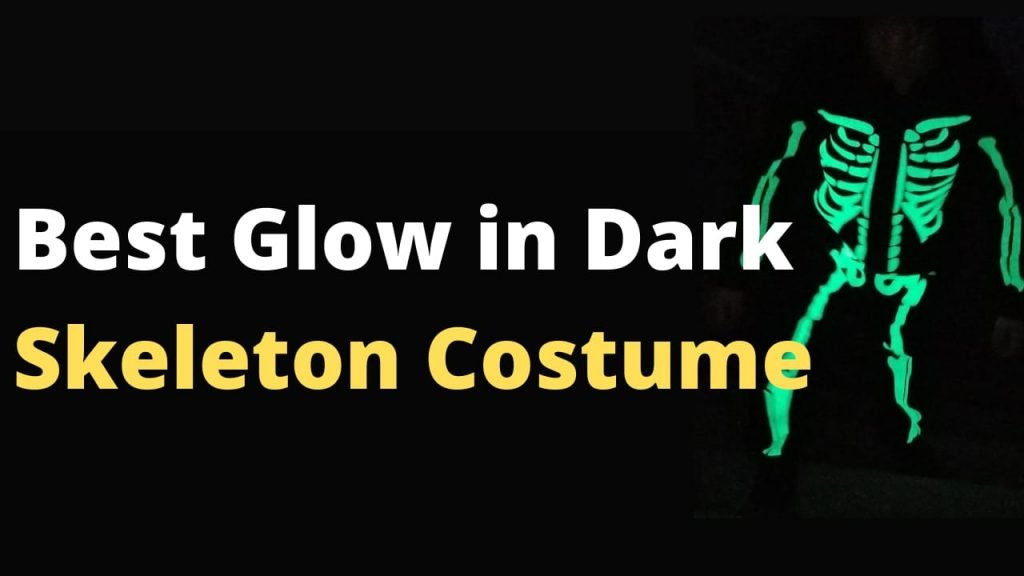 Best Glow in the Dark Skeleton Costume
