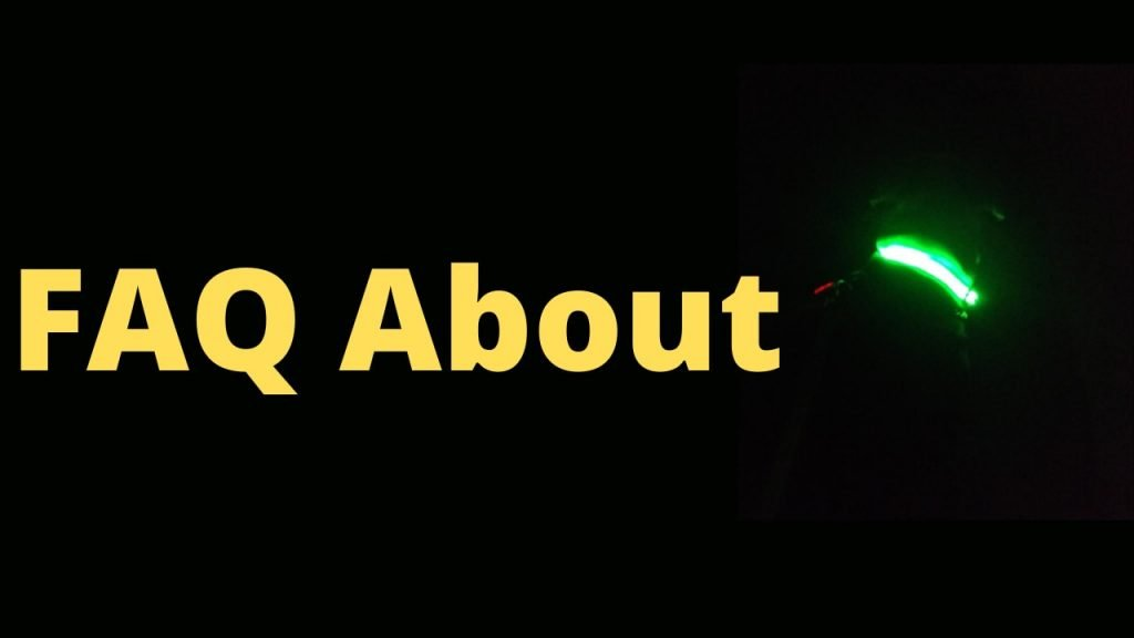 FAQ about the Best Glow in the Dark Dog Collar