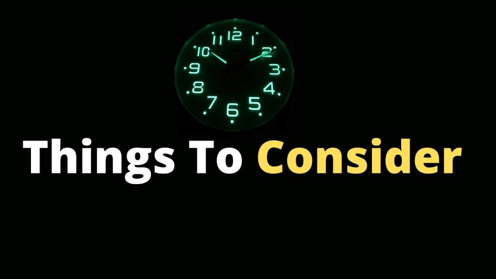 Things to consider before getting the Best Glow in the Dark Wall Clock