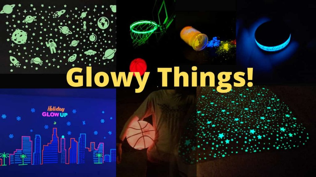 Glowy things - are they reactive or are they safe?