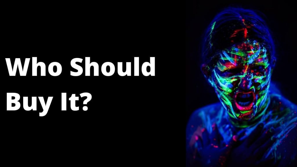 Can glow in the dark paint work without a backlight?